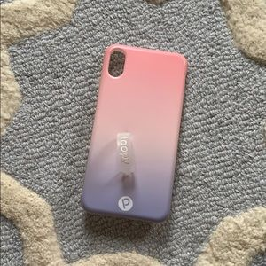 Loopy case for iPhone 10x max. Ombré